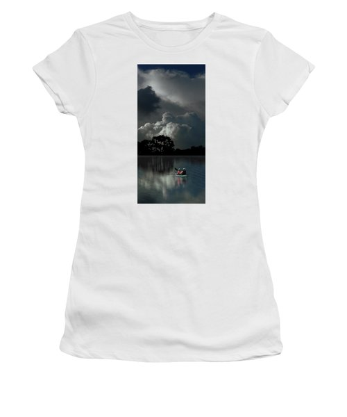 Women's T-Shirt (Athletic Fit) featuring the photograph 4477 by Peter Holme III