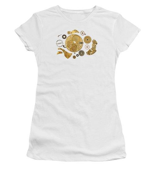 Clockwork Mechanism Women's T-Shirt