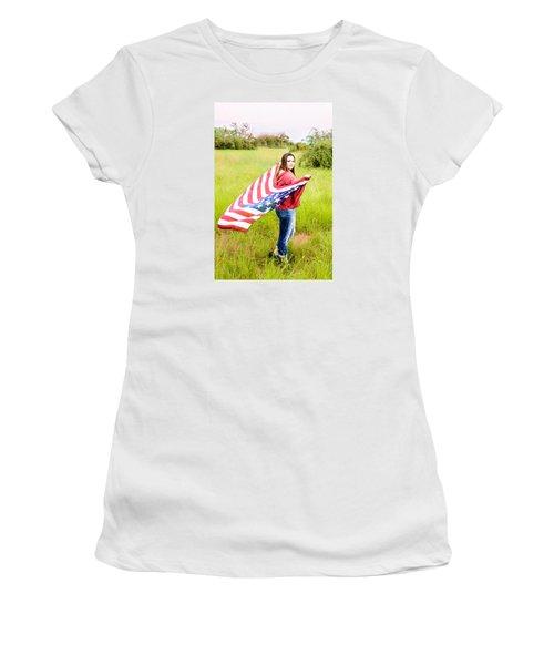 Women's T-Shirt (Junior Cut) featuring the photograph 5644 by Teresa Blanton