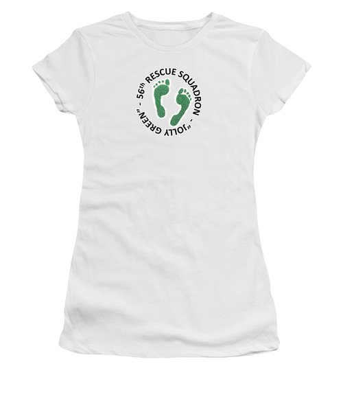 56th Rescue Squadron Women's T-Shirt (Athletic Fit)