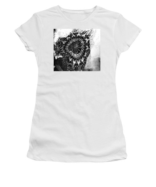 Women's T-Shirt (Junior Cut) featuring the photograph And Grandma Did The Cooking  by Danica Radman