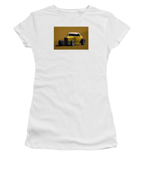 1932 Ford Roadster Hot Rod Women's T-Shirt (Junior Cut) by Tim McCullough