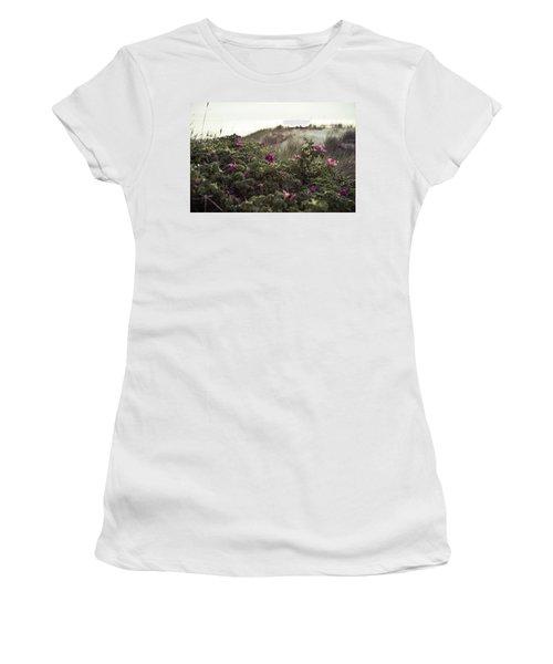 Rose Bush And Dunes Women's T-Shirt