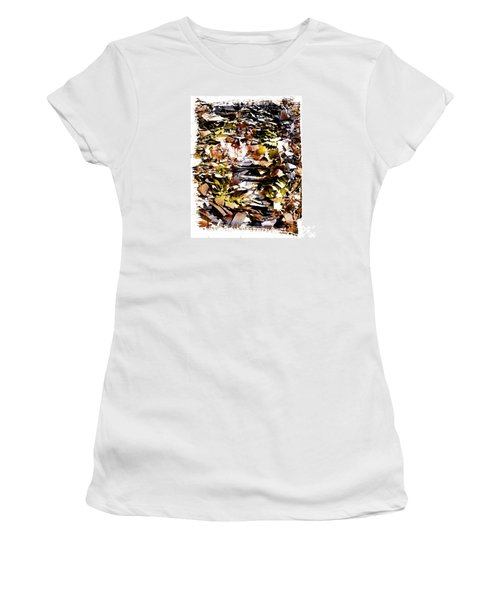 Compressed Pile Of Paper Products Women's T-Shirt