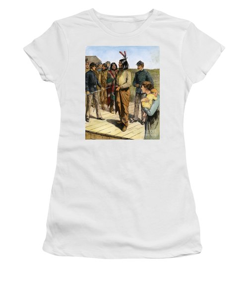 Geronimo 1829-1909.  To License For Professional Use Visit Granger.com Women's T-Shirt