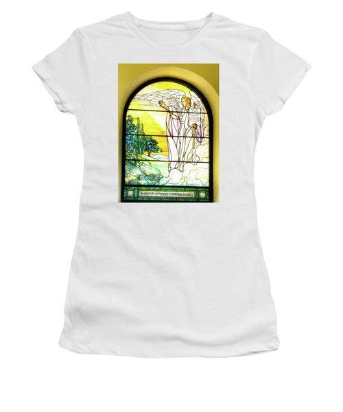 Saint Anne's Windows Women's T-Shirt (Athletic Fit)
