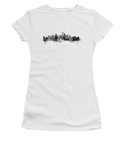 Seattle Washington Skyline Women's T-Shirt