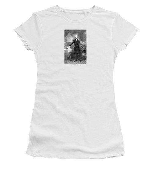 Thomas Jefferson Women's T-Shirt (Junior Cut) by War Is Hell Store