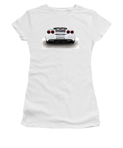 60th Anniversary Corvette Women's T-Shirt (Athletic Fit)