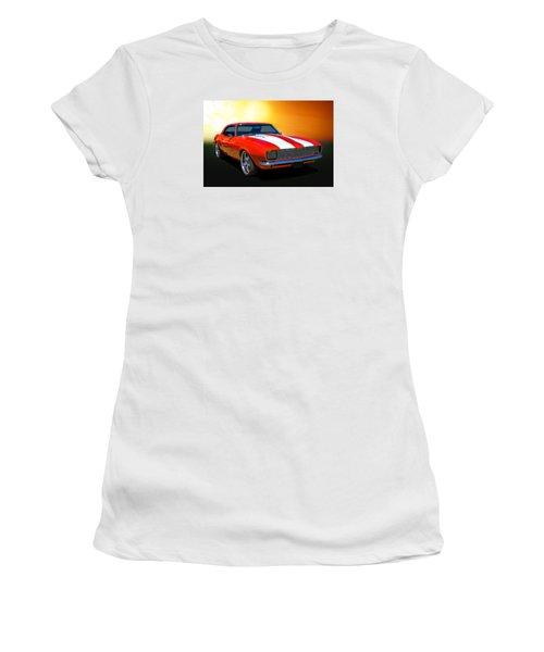 68 Camaro Women's T-Shirt (Junior Cut) by Keith Hawley
