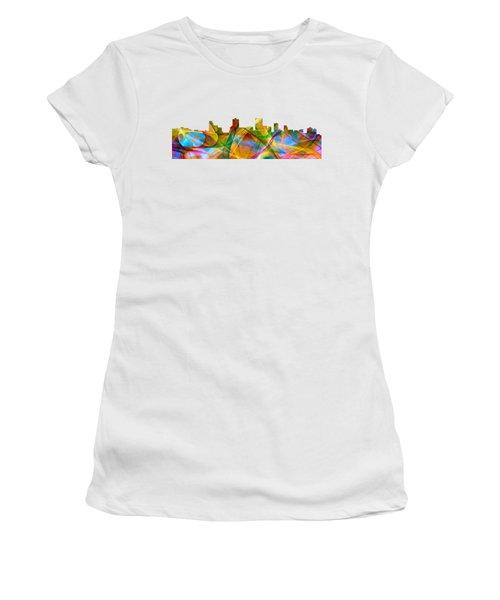 Anchorage Alaska Skyline Women's T-Shirt