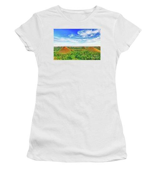 Chocolate Hills Women's T-Shirt