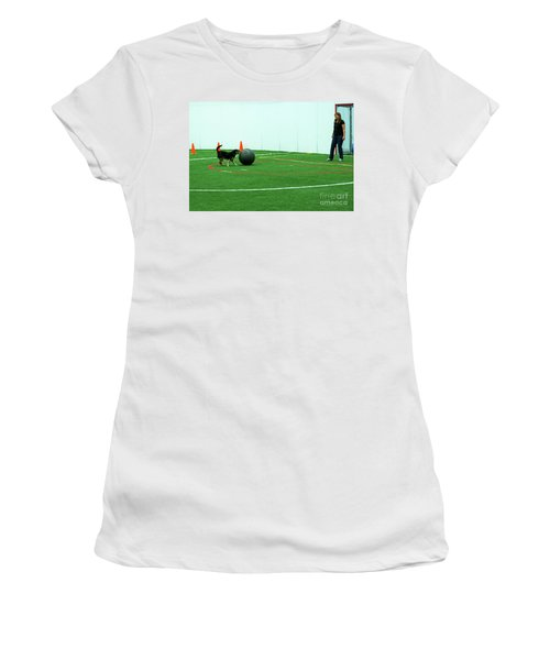 Women's T-Shirt featuring the photograph Donna And Molly by Fred Stearns