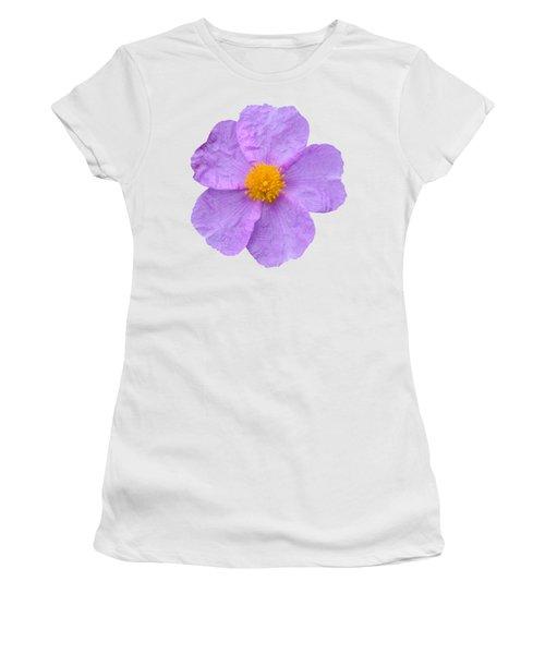 Rockrose Flower Women's T-Shirt (Junior Cut) by George Atsametakis