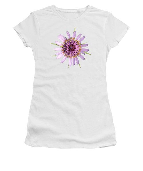 Salsify Flower Women's T-Shirt (Athletic Fit)