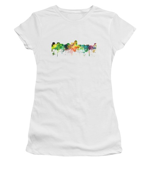 Albuquerque New Mexico Skyline Women's T-Shirt