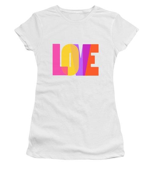 Love Women's T-Shirt (Junior Cut) by Bill Owen