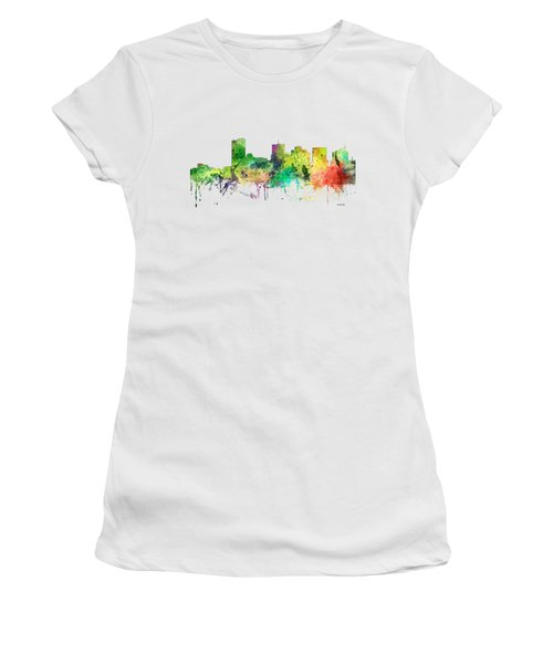 Phoenix Arizona Skyline Women's T-Shirt (Athletic Fit)
