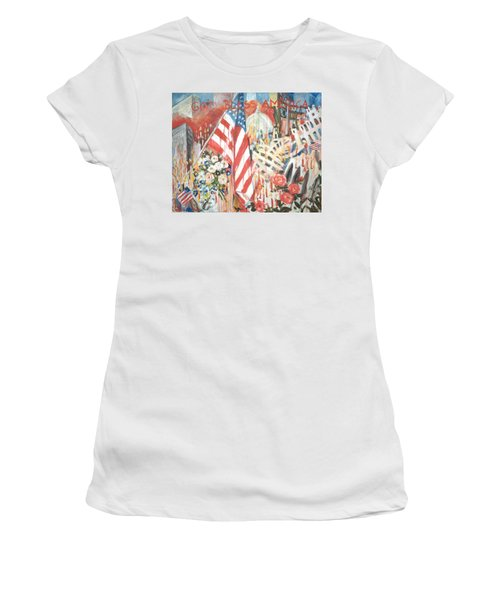 9-11 Attack Women's T-Shirt (Athletic Fit)