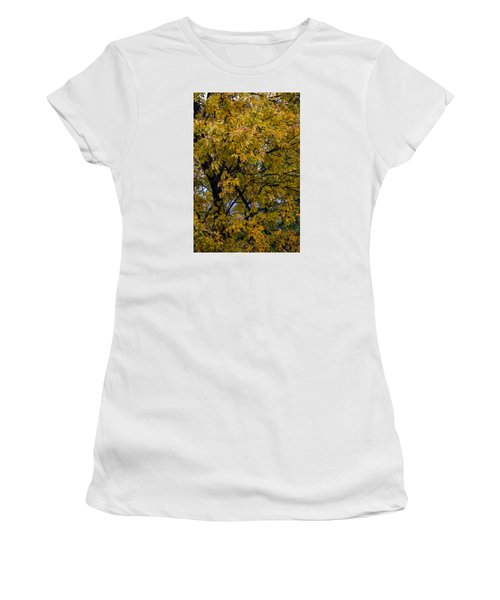 Women's T-Shirt (Junior Cut) featuring the photograph Fall Color Virginia West Virginia by Kevin Blackburn