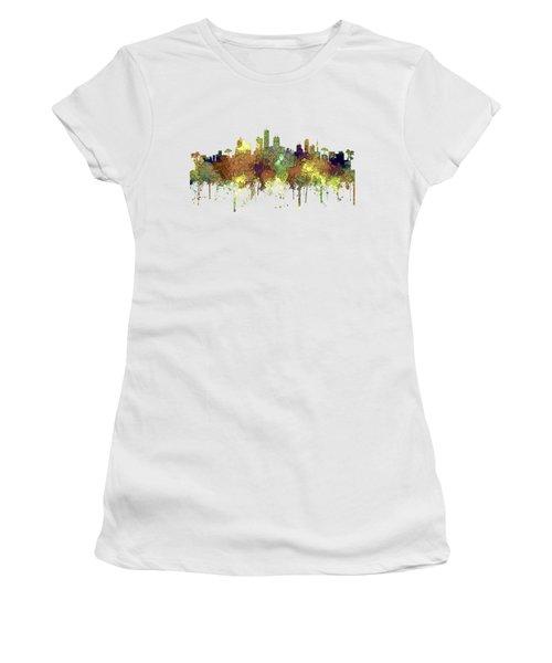 Honolulu Hawaii Skyline Women's T-Shirt