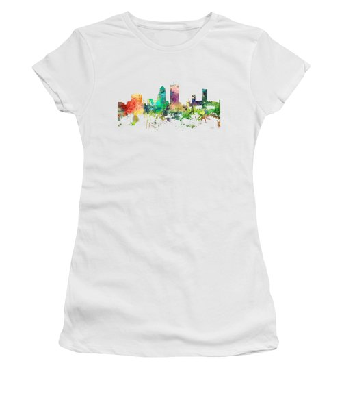 Jacksonville Florida Skyline Women's T-Shirt