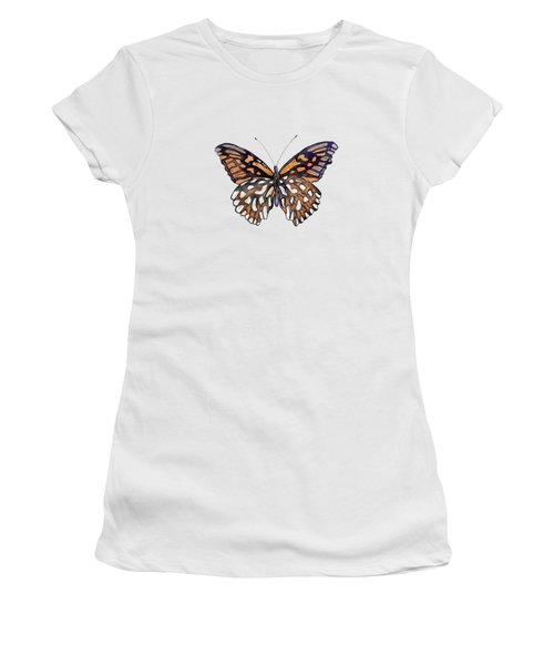 9 Mexican Silver Spot Butterfly Women's T-Shirt