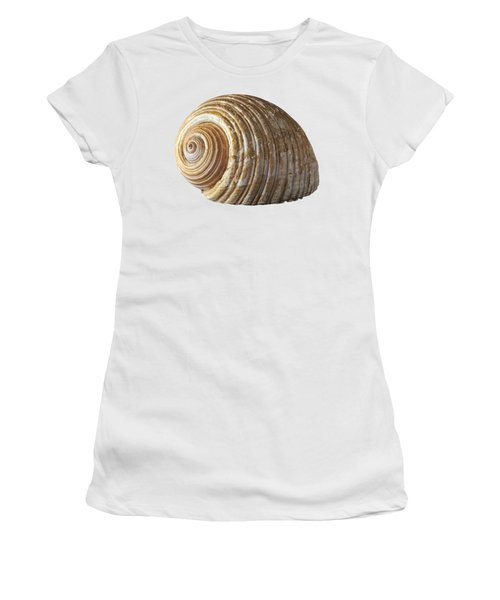 Sea Shell Women's T-Shirt (Junior Cut) by George Atsametakis