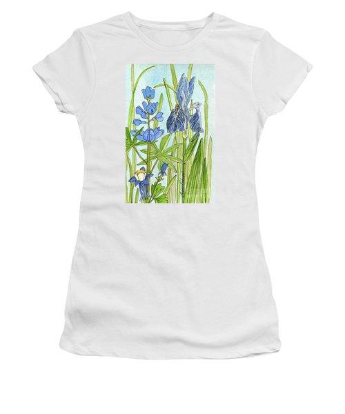 A Blue Garden Women's T-Shirt