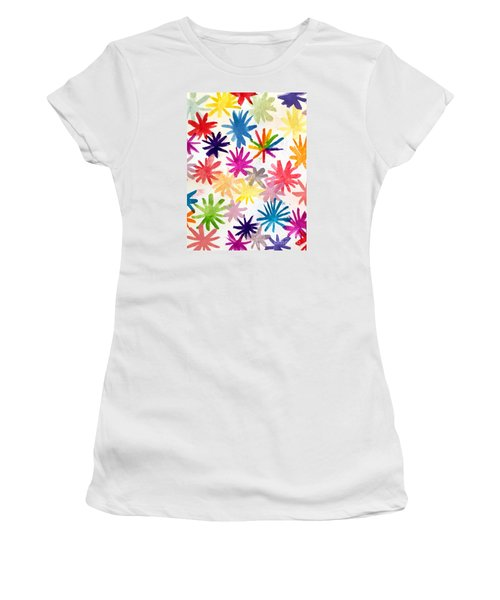 Women's T-Shirt (Junior Cut) featuring the photograph A Child's Creation #1 - Donation by Suri