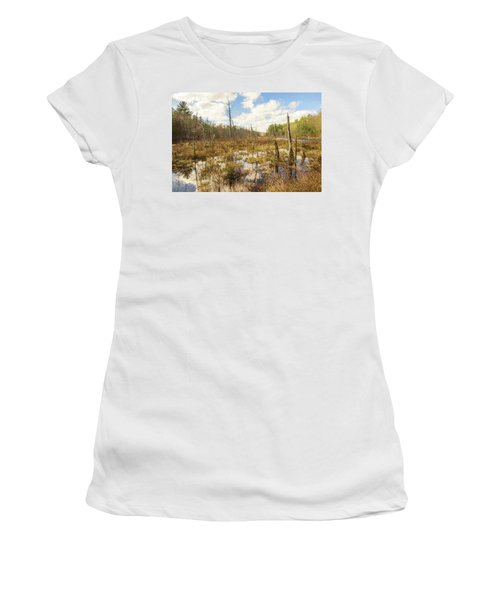 A Connecticut Marsh Women's T-Shirt (Athletic Fit)