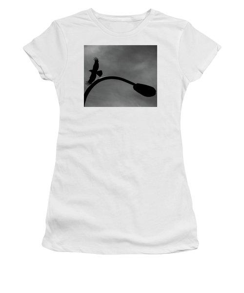 A Crow And A Streetlight Women's T-Shirt
