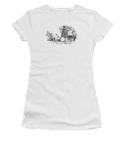 A Farm In Schroeder Women's T-Shirt (Athletic Fit)