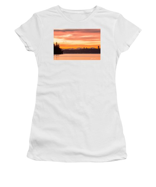 A Glaze Of Orange Women's T-Shirt