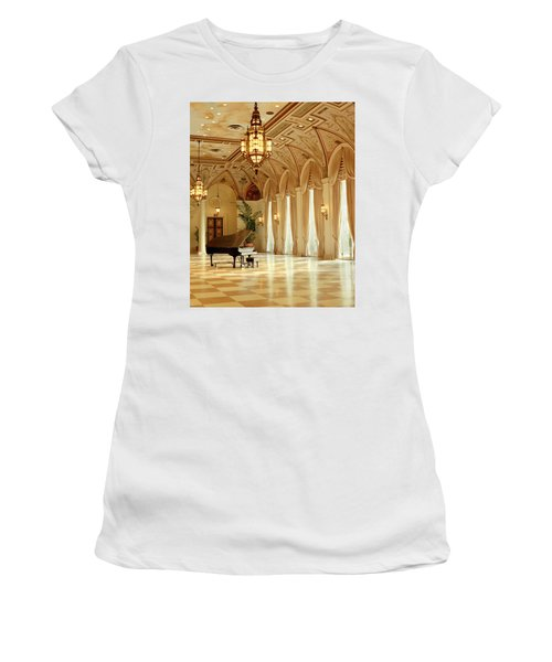 A Grand Piano Women's T-Shirt (Athletic Fit)