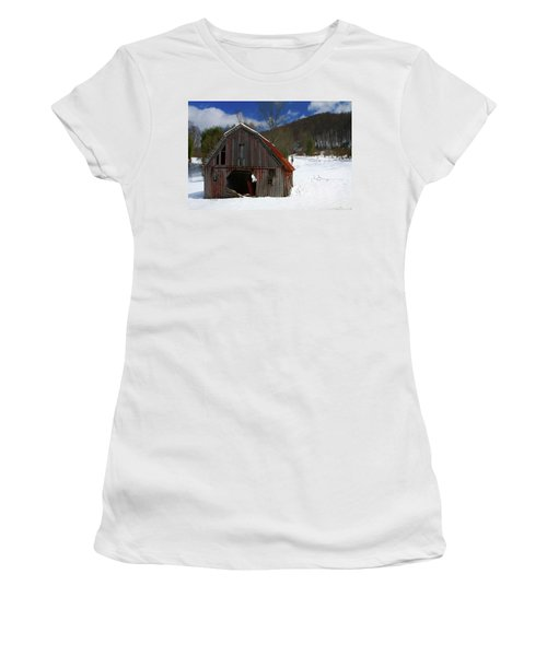 A Little Rust Women's T-Shirt (Junior Cut) by Dale R Carlson