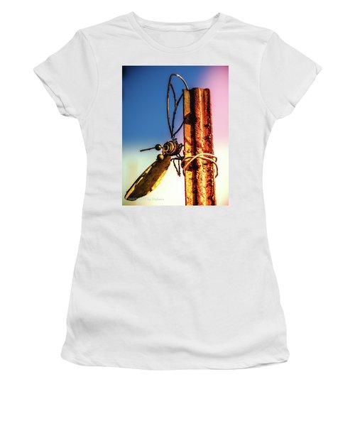 A Little Rusty Women's T-Shirt (Junior Cut) by Stefanie Silva