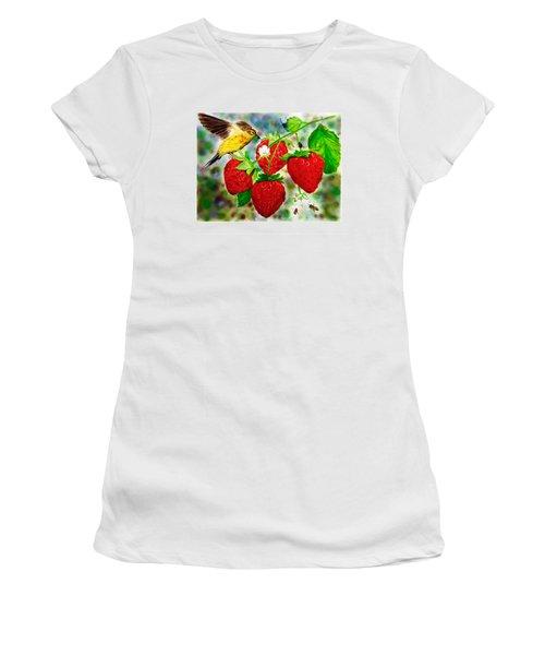 A Midsummer Daydream Women's T-Shirt (Junior Cut) by Asha Aravind