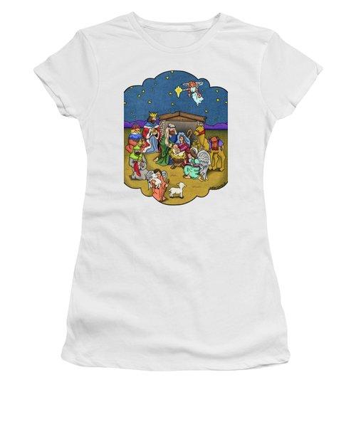 A Nativity Scene Women's T-Shirt
