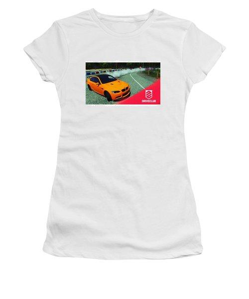 A Nice #bmw #m3 #gts #drift, Pic Taken Women's T-Shirt