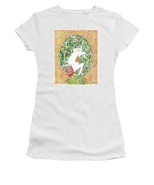 A Pawn Escapes Limited Edition Women's T-Shirt (Junior Cut) by Lise Winne