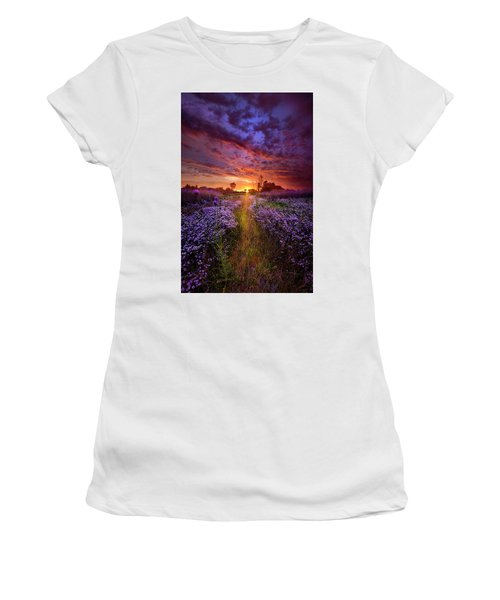 A Peaceful Proposition Women's T-Shirt (Athletic Fit)