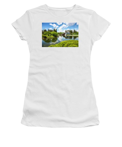 A Perfect Day In The Garden Women's T-Shirt (Athletic Fit)