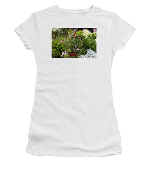 A Riot Of Flowers Women's T-Shirt (Athletic Fit)