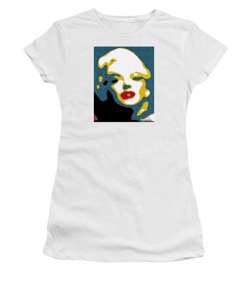 A Sexy Glance Women's T-Shirt (Junior Cut) by Pedro L Gili