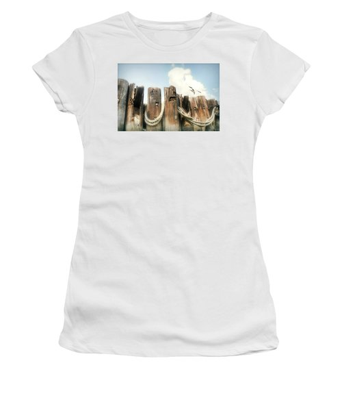 It's A Shore Thing Women's T-Shirt (Junior Cut) by Diana Angstadt