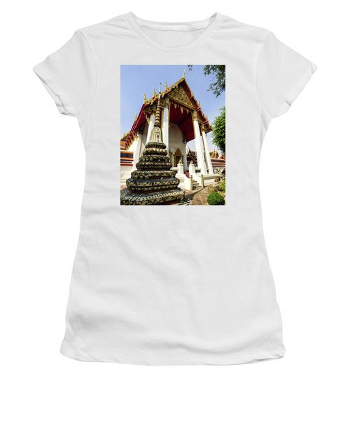 A View Of Wat Pho Temple In Bangkok, Thailand Women's T-Shirt