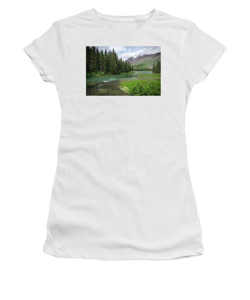 A Walk In The Forest Women's T-Shirt (Athletic Fit)