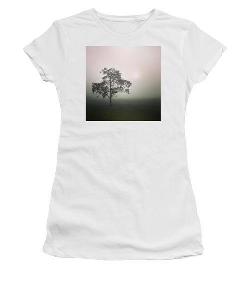 A Walk Through The Clouds #fog #nuneaton Women's T-Shirt