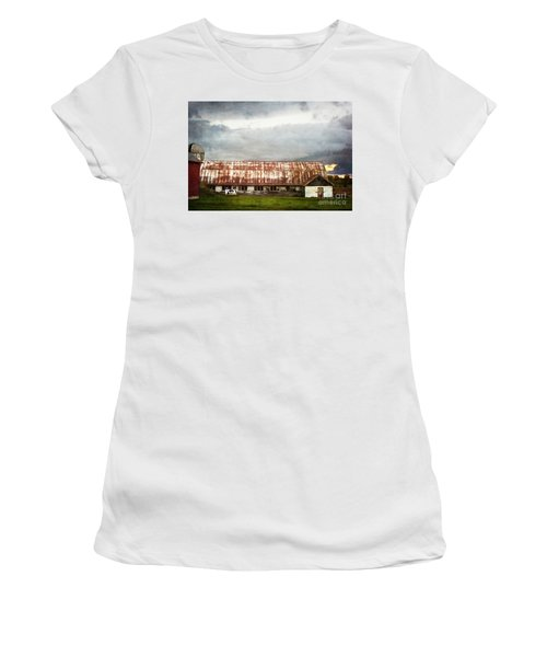 Abandoned Dairy Farm Women's T-Shirt (Athletic Fit)